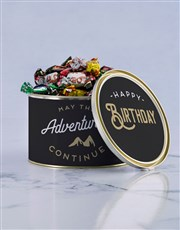Personalised Adventures Chocolate Passions Tin