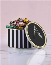 Personalised Monogram Chocolate Passions Tin