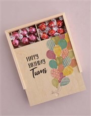 Personalised Birthday Box Of Chocs