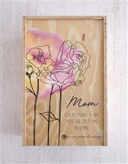 Personalised Chocolate Crate For Mom