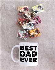 Personalised Best Dad Ever Mug Gift