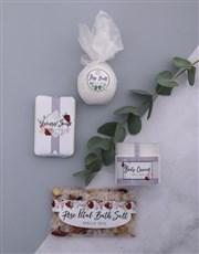 Personalised Mom Bath Spoils Keepsake Box