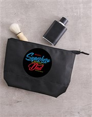Personalised Super Hero Wash Bag
