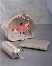 Personalised 3 Piece Best Mom Vanity Set