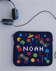 Personalised Neoprene Fun and Games Tablet Cover