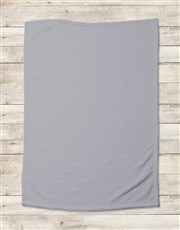 Personalised Generic Baby Birth Blanket