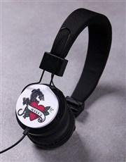 Personalised Love Panther Headphones