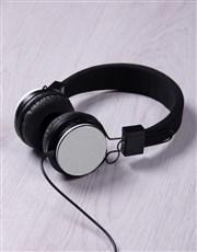 Personalised Blue Groupie Headphones