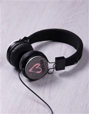 Personalised Love Headphones
