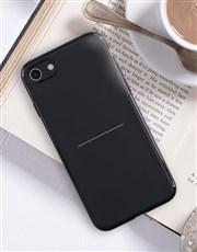 Personalised Signature Black iPhone Cover