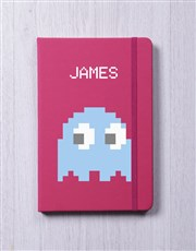 Personalised 8bit Ghost A5 Notebook