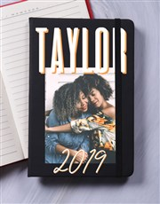 Personalised Photo Layout A5 Notebook