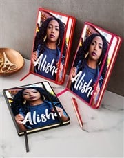 Personalised Vogue Photo A5 Notebook