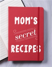 Personalised Secret Recipes A5 Hardcover Notebook
