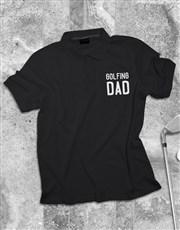 Personalised Dad Printed Polo Shirt