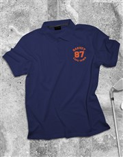 Personalised Contempo Printed Polo Shirt