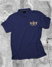 Personalised Coat of Arms Polo Shirt