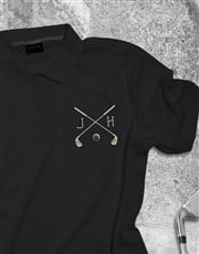 Personalised Golf Club Printed Polo Shirt