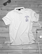 Personalised Captain Polo Shirt