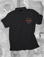 Personalised Classic Badge Polo Shirt