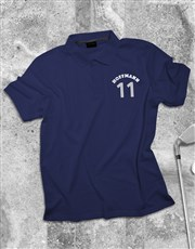 Personalised Sporty Polo Shirt
