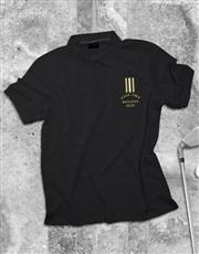 Personalised Stripe Polo Shirt