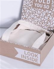 Personalised Floral Initial Tote Bag