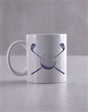 Personalised Golf Socks And Mug