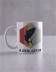 Personalised Real Catch Socks And Mug