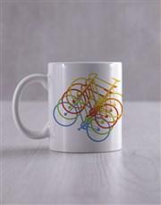 Personalised Cycling Socks And Mug