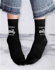 Personalised Old Is Cool Socks And Mug
