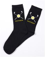 Personalised Golf Monogram Socks