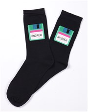 Personalised Three Pair Eighties Socks Box