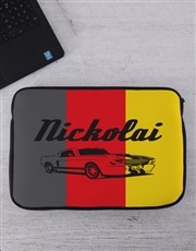 Personalised Retro Car Tablet or Laptop Sleeve
