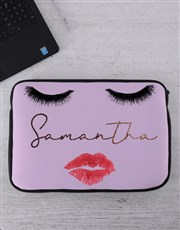 Personalised Smooches Tablet or Laptop Sleeve