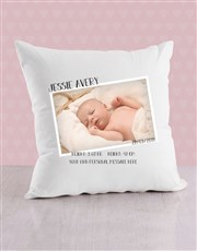 Personalised Floral Birth Bed Set