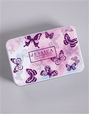 Personalised Watercolour Butterfly Gift