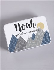 Personalised Move Mountains Gift