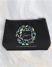 Personalised Blossom Cosmetic Bag