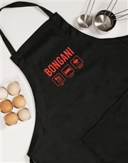 Personalised Eat Sleep Braai Apron
