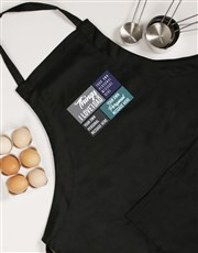Personalised Love About Dad Apron