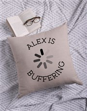 Personalised Buffering Scatter Cushion