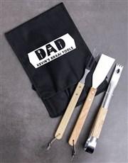 Personalised Dad Braai Tong Bag