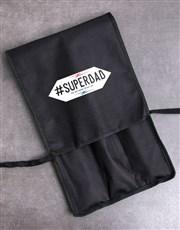 Personalised #Superdad Braai Tong Bag