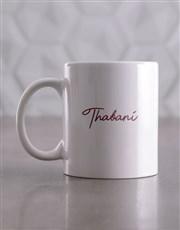Personalised Be Yourself Mug & Coaster Set
