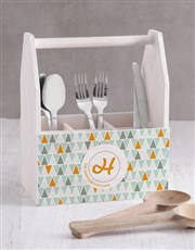 Personalised Geo Utensil Holder