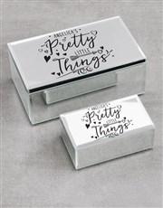 Personalised Pretty Things Trinket Box