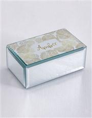 Personalised Filigree Trinket Box
