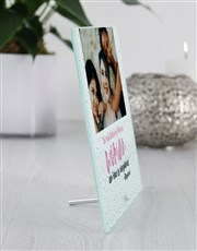 Personalised Confidence Glass Tile