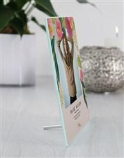 Personalised Photo Upload Glass Tile